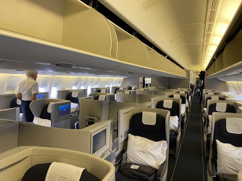 Club World cabin