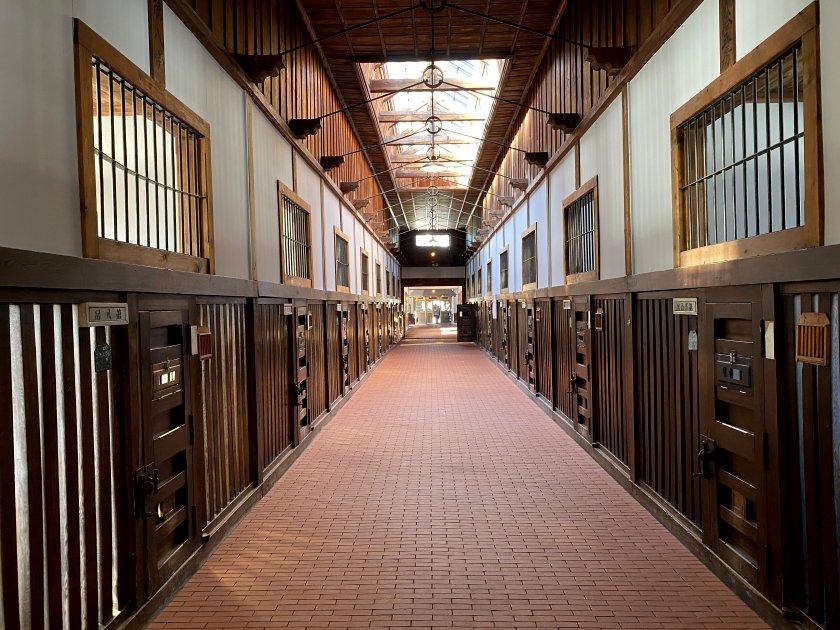 Cell block corridor