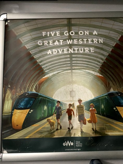 I love GWR's Famous Five advertising