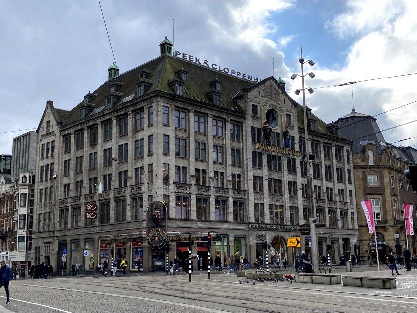Madame Tussaud's occupies the upper floors of P&C