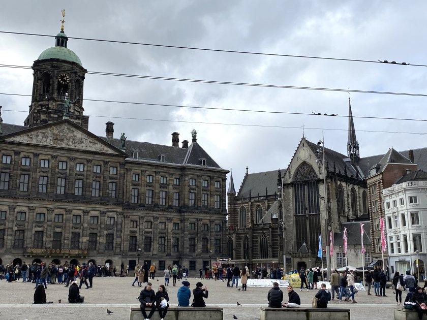 Royal Palace and De Nieuwe Kerk