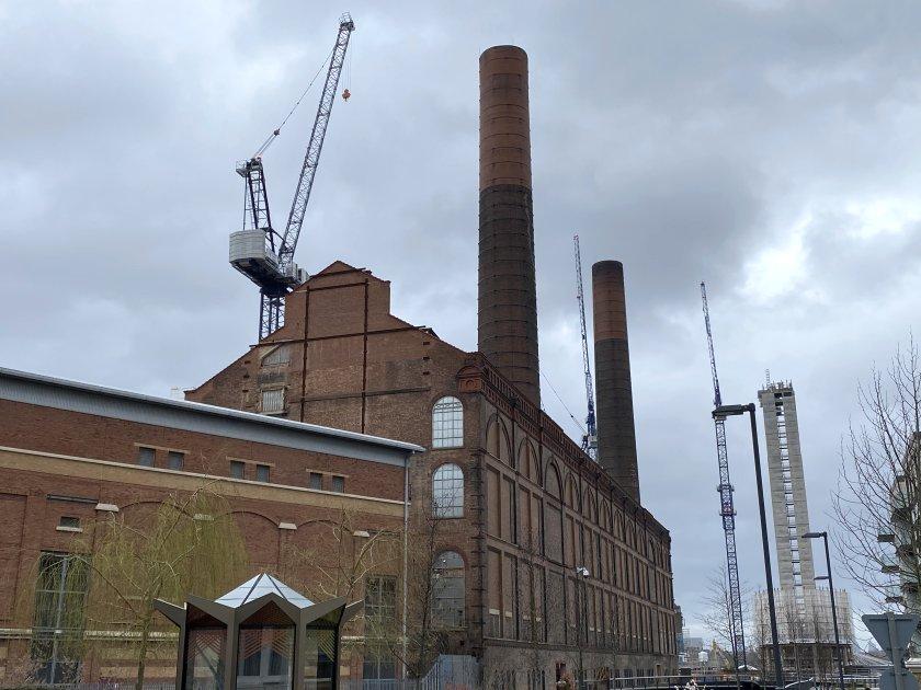 Industrial scene at Chelsea Creek