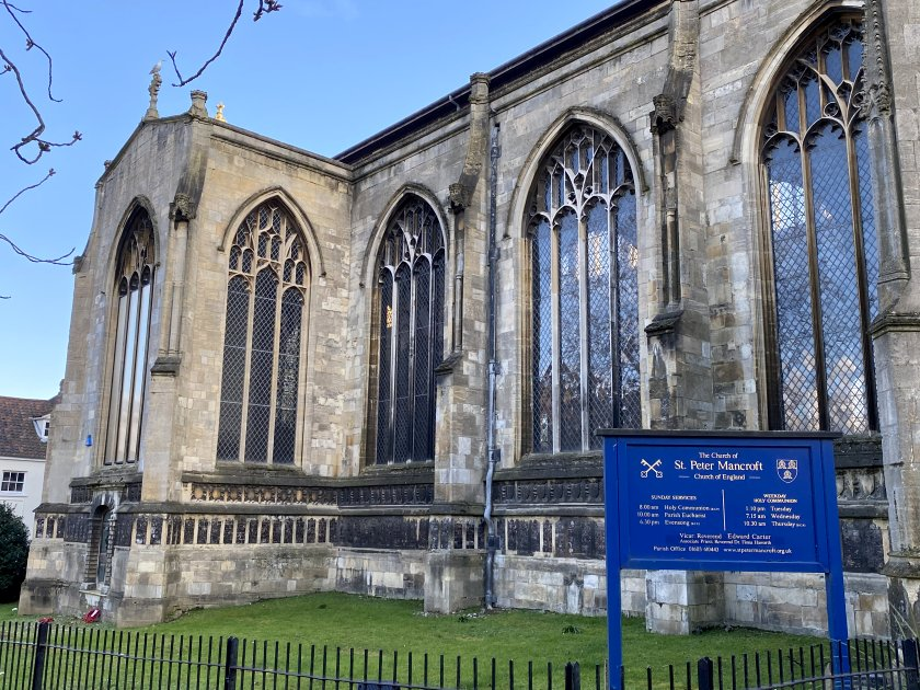 St Peter Mancroft is the largest 'ordinary' church in Norwich, after the two cathedrals