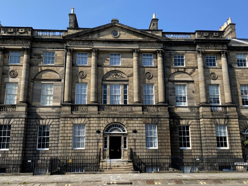 Bute House, Charlotte Square - official residence of the First Minister of Scotland
