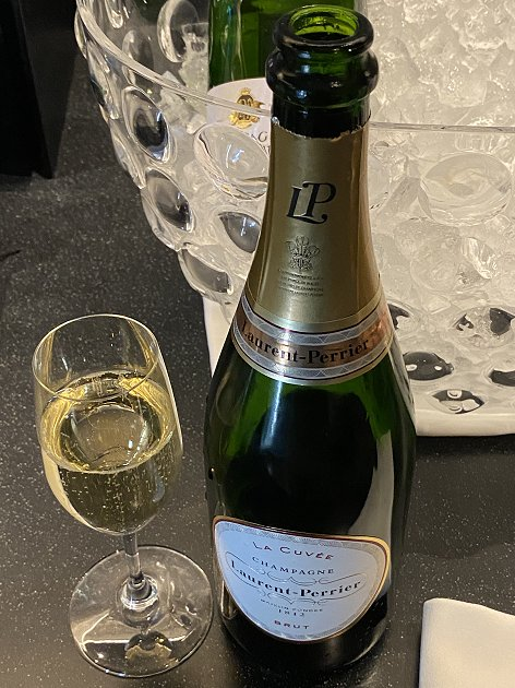 That'll do nicely! (Laurent-Perrier champagne)