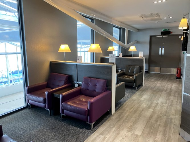 Aspire Lounge at Bristol Airport