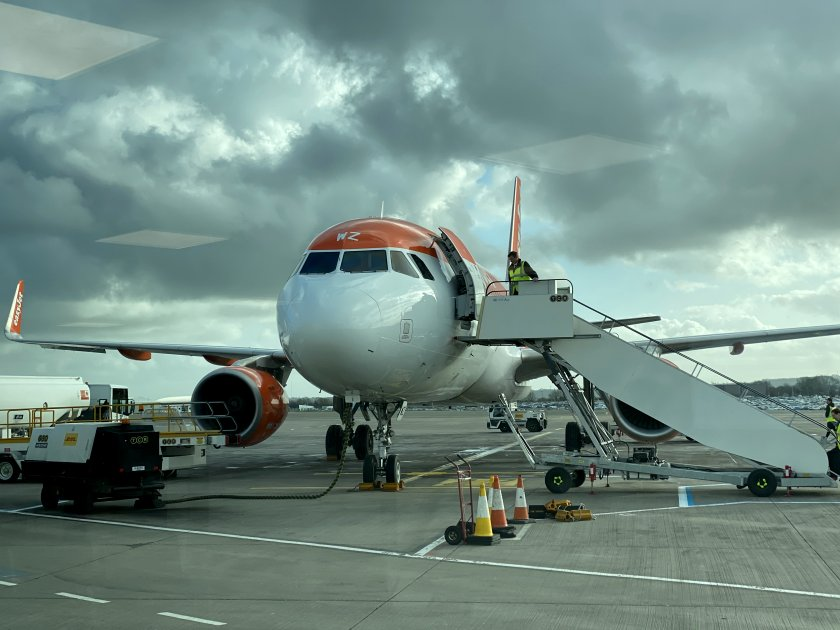 easyJet Airbus A320 at BRS