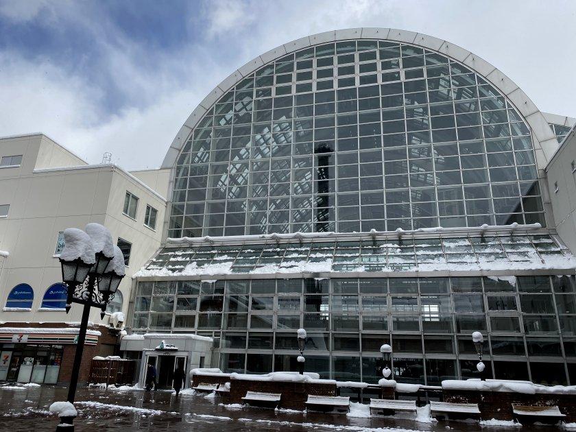 Sapporo Factory includes this impressive new atrium