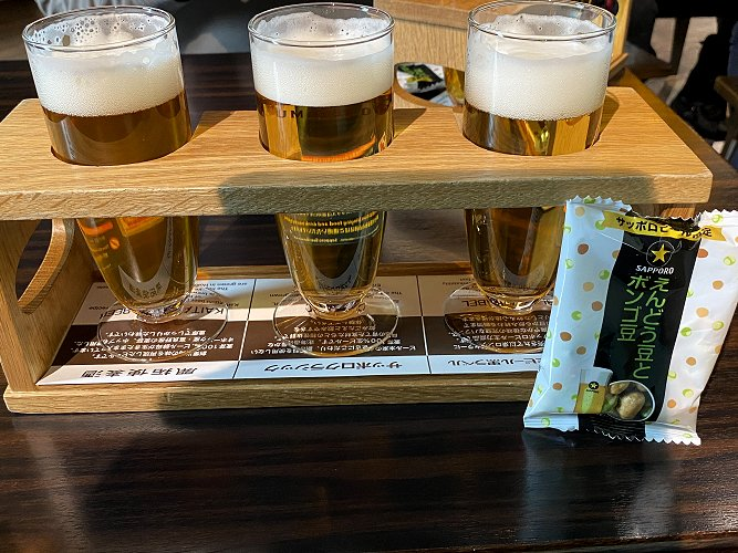 Beer flight - it had to be done!