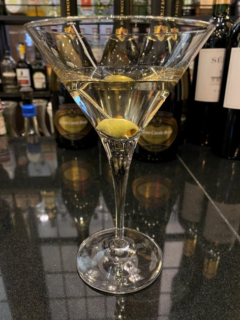 Dry Martini at Verger by the Finch