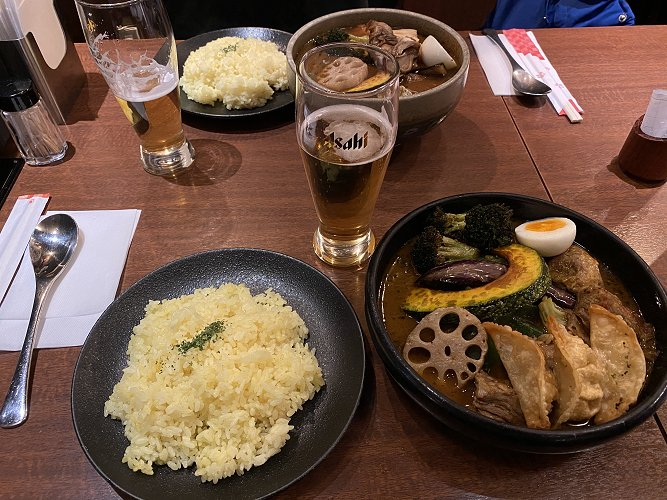 Authentic Sapporo dinner at Sho-Rin II