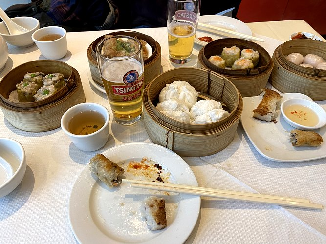 Dim-sum lunch
