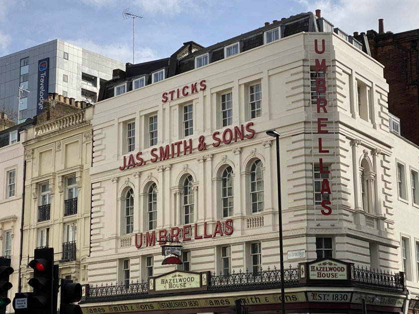James Smith & Sons umbrella shop