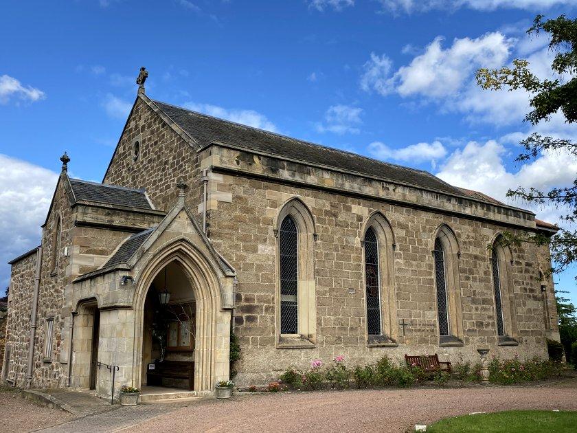 Holy Trinity Episcopal Church is close to Nungate Bridge