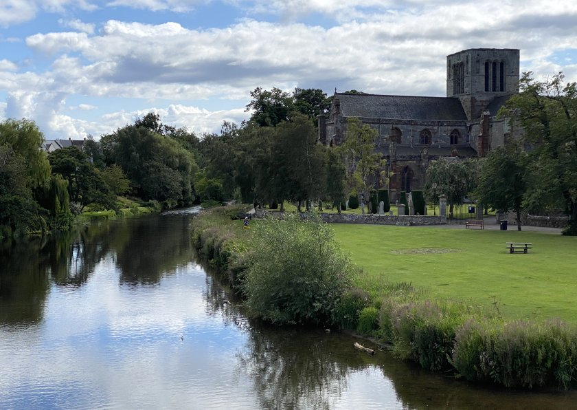 St Mary's Church, from Nungate Bridge