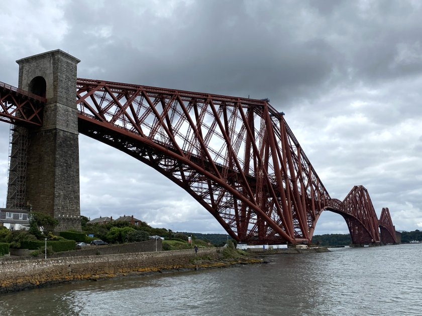 The original Forth Bridge, a UNESCO World Heritage Site