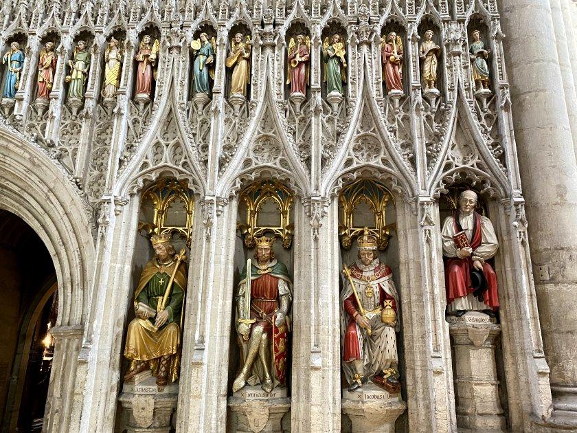 Amazingly ornate choir screen