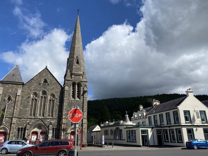 This former church is now the Eastgate Theatre & Arts Centre