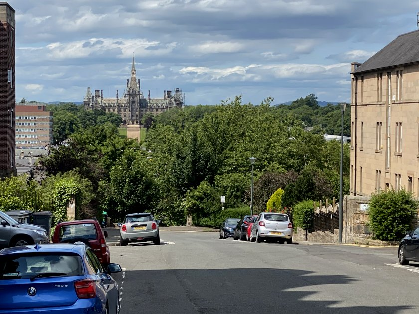 Fettes College from S Learmonth Ave