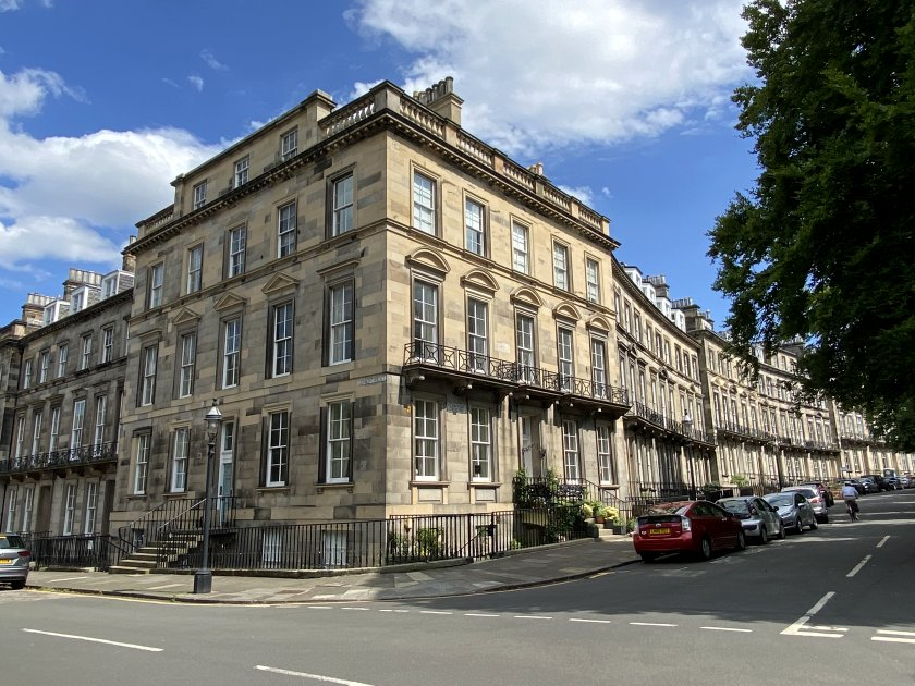 Oxford Terrace and Clarendon Crescent