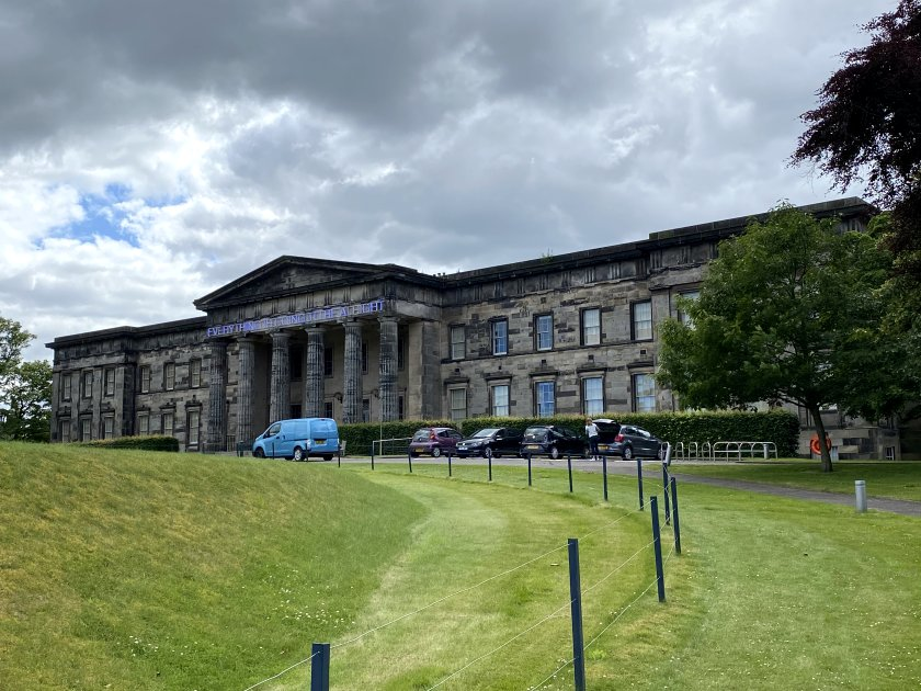 Scottish National Gallery of Modern Art west building, better known as 'Modern One'