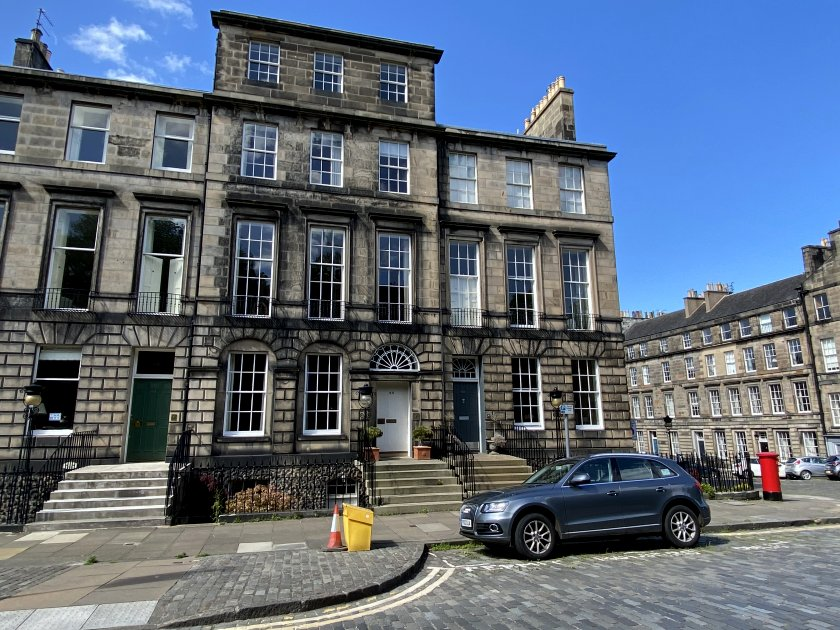 India Street and Heriot Row