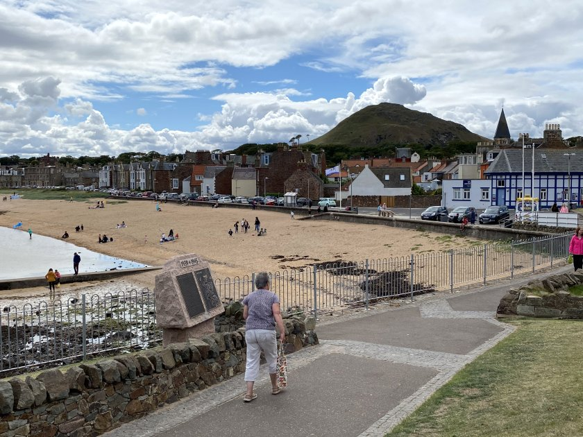 East Bay, showing North Berwick Law