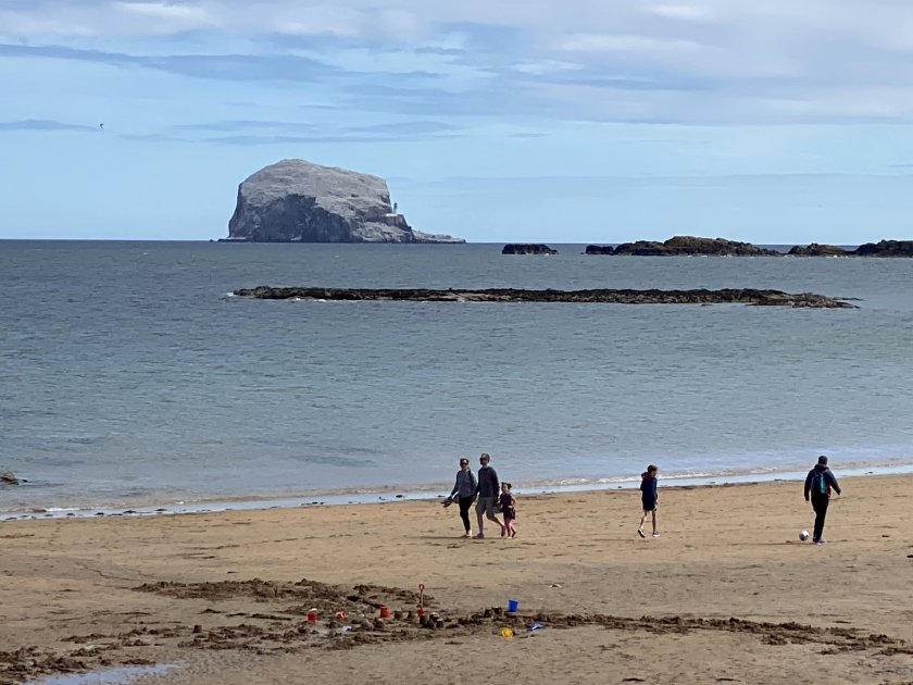 Bass Rock from Melbourne Road