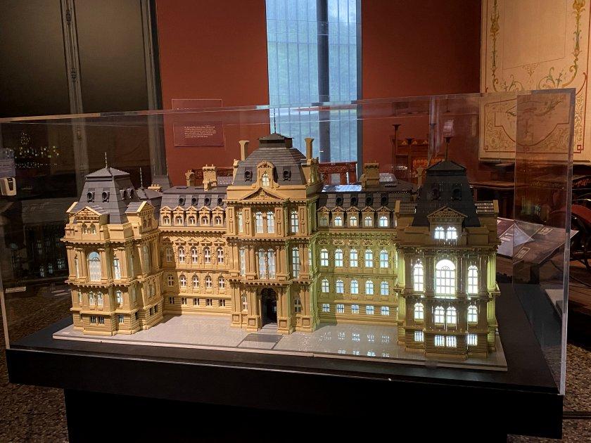 The museum in miniature