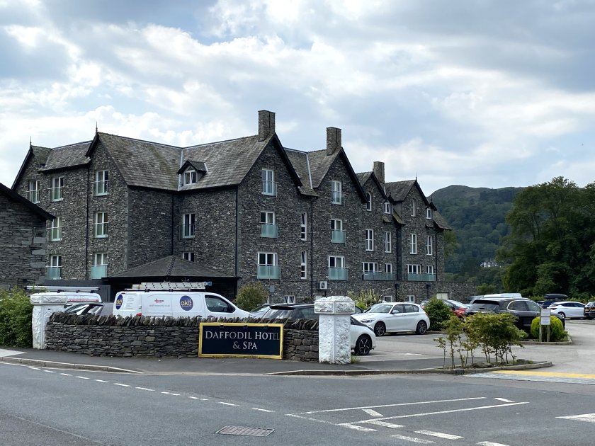 The Daffodil Hotel & Spa was built on the grounds of the former Prince of Wales hotel