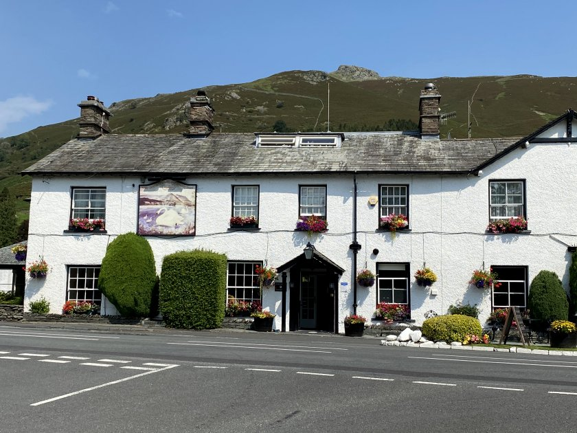 The Swan Inn, immortalised by Wordsworth and also frequented by Sir Walter Scott