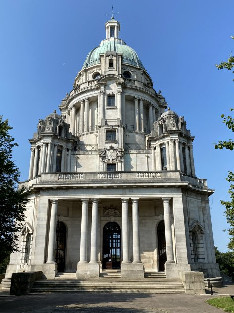 The Ashton Memorial is an impressive neo-Baroque folly