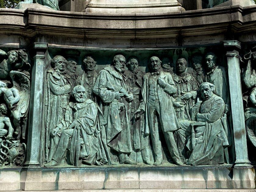 Queen Victoria Memorial detail