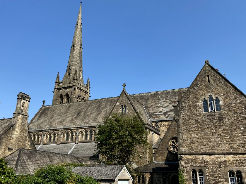The first two photos show Lancaster Cathedral