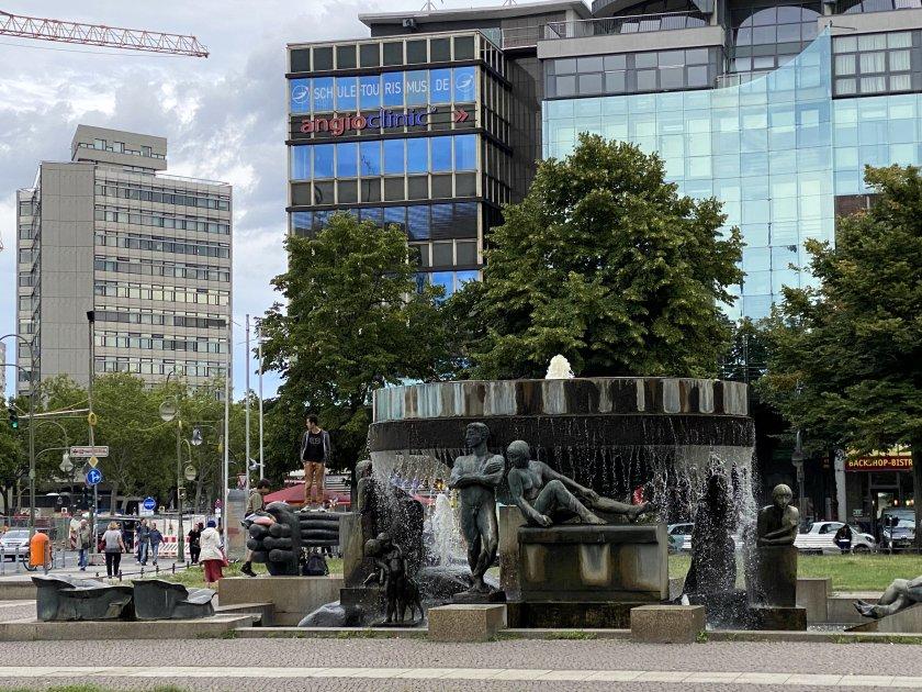 Fountain in Wittenbergplatz