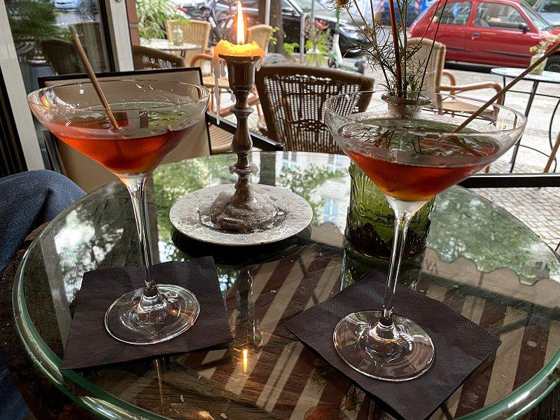 Cocktails at Van Gogh bar, Grolmanstraße