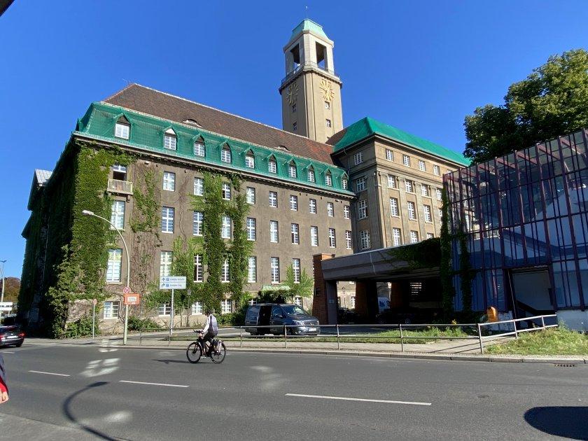 Rathaus-Spandau (the local town hall)