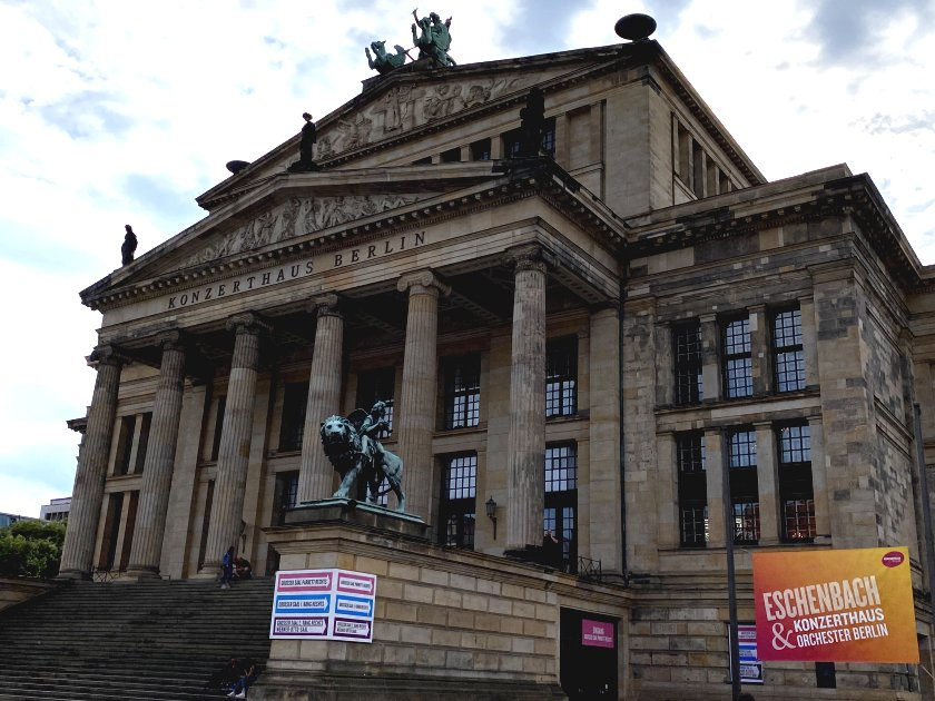 Originally a theatre, the centrally placed building in Gendarmenmarkt is now a concert hall