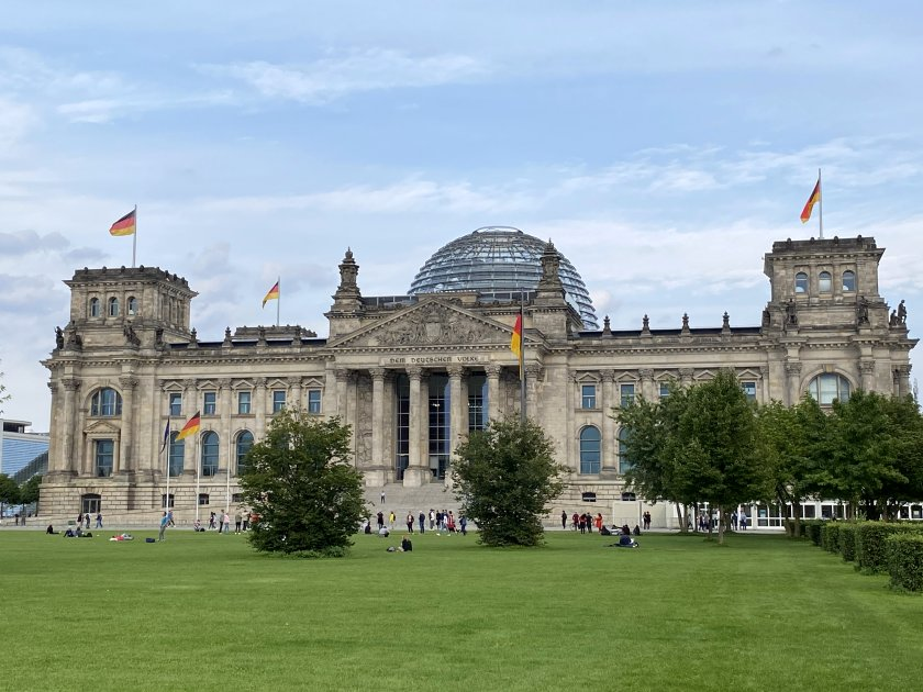 The building may still be referred to as the Reichstag, but it is now home to the Bundestag (Federal Parliament)