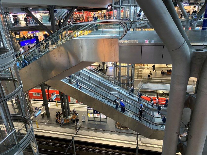 Berlin Hauptbahnhof, opened in 2006