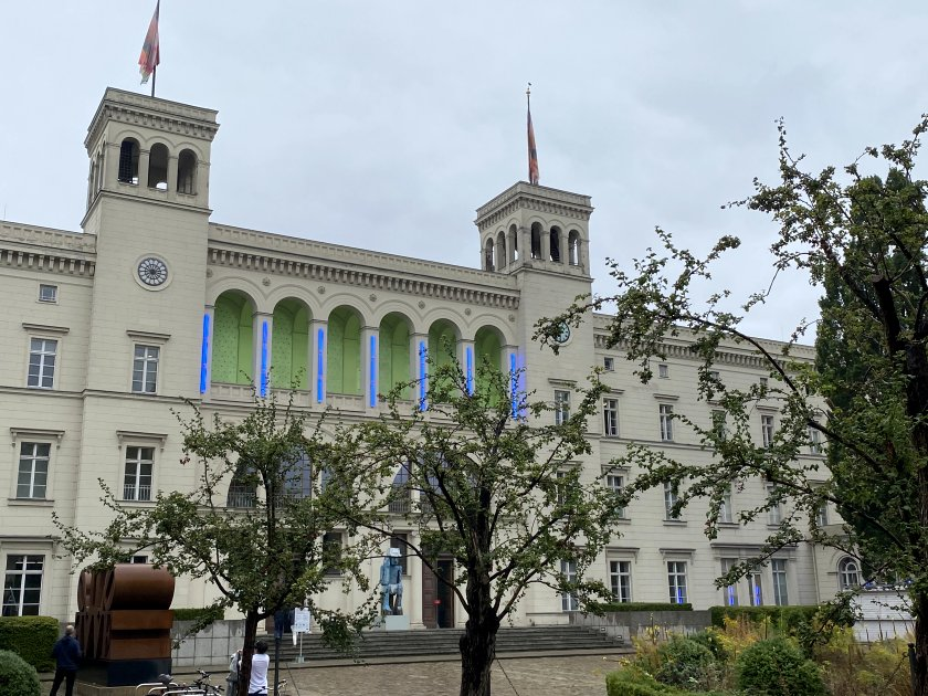 This is the former Hamburger Bahnhof