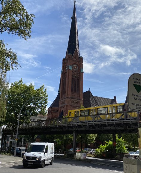 American Church in Berlin, Dennewitzplatz