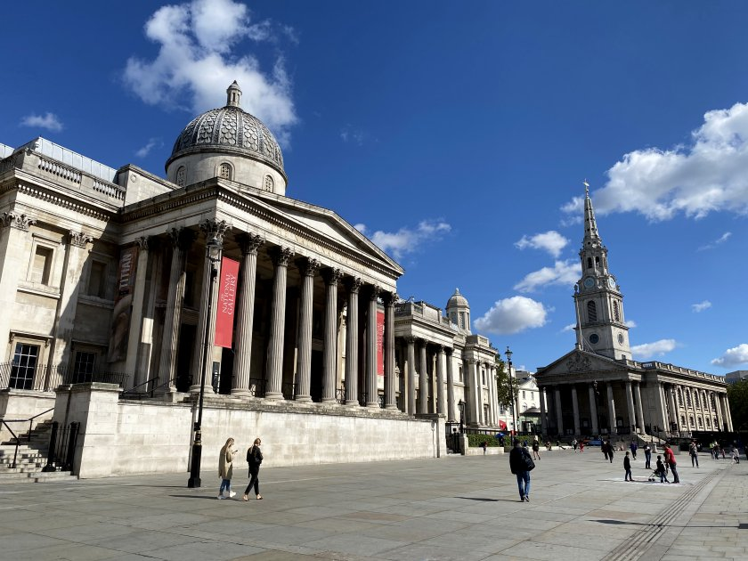 National Gallery & St Martin-in-the-Fields