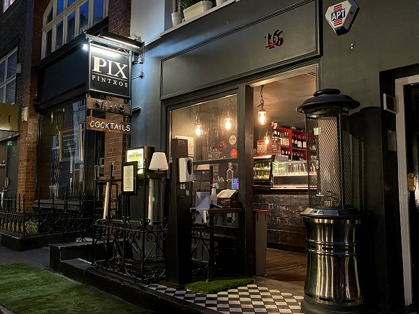 This Soho pintxo bar looks like it has just dropped into place from San Sebastian!