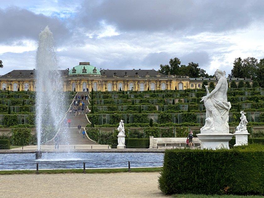 This is Sanssouci Palace