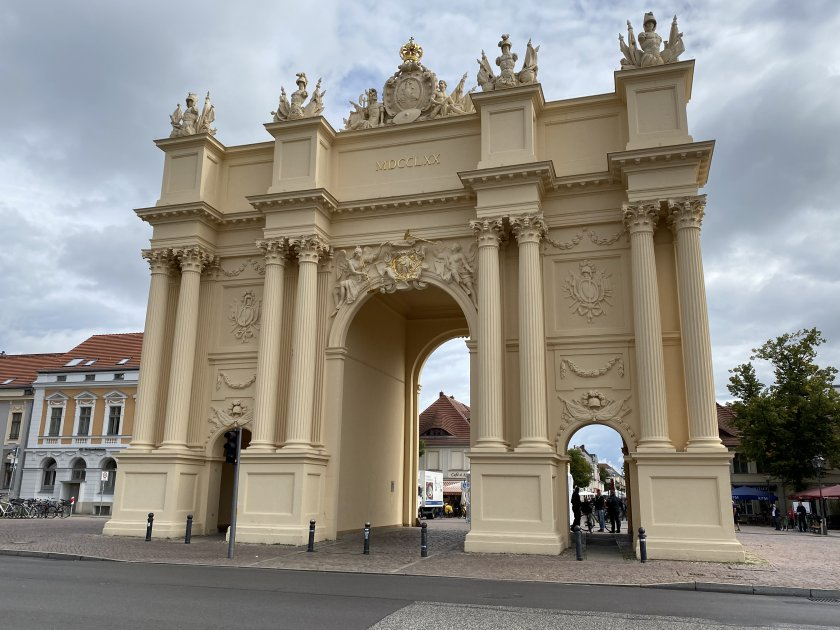 Potsdam has its very own Brandenburg Gate