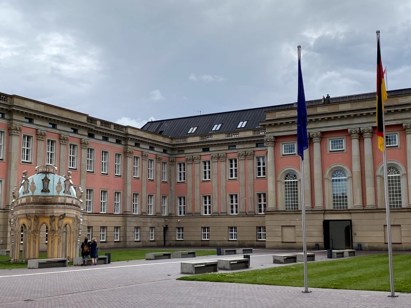 It now houses the Landtag of Brandenburg (parliament of the German federal state)