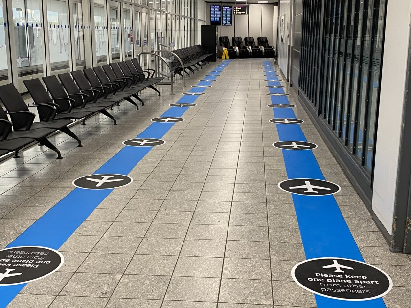 One-way system, but when it's this empty, does it really matter?