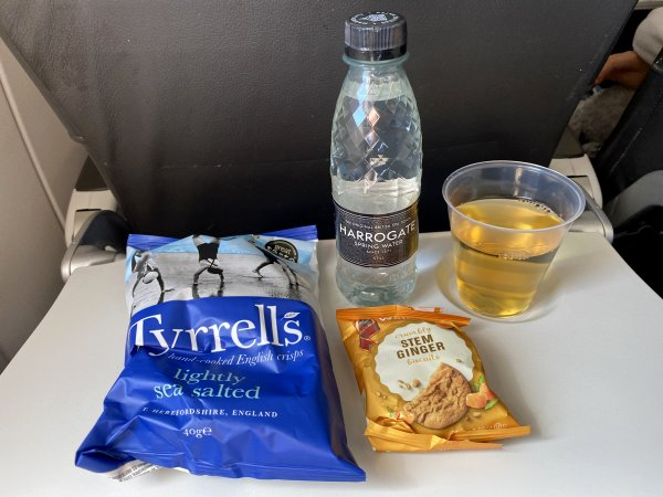 In-flight snack for the 'Covid Age'