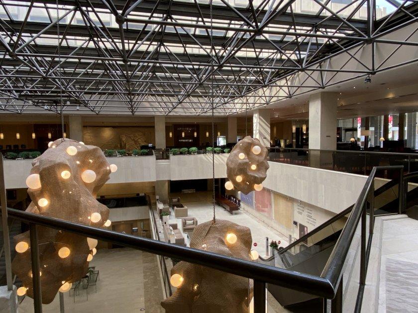 Enormous lobby